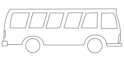 coloriage d'autobus