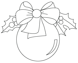 christmas baubles templates to colour - coloriage de boule de no l dessins colorier