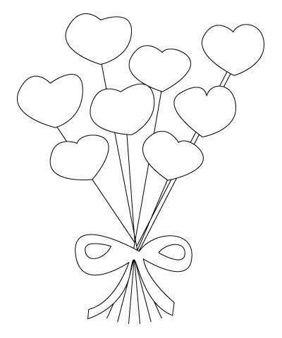 Coloriage De Fleurs De St Valentin Dessins A Colorier